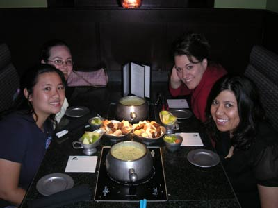 Girls at the Melting Pot